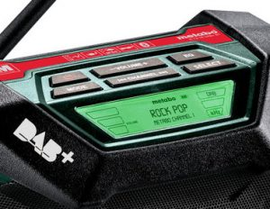 radio de chantier Metabo R 12-18 BT
